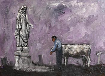 Christine Thery, The Prayer of the Farmer at Morgan O'Driscoll Art Auctions