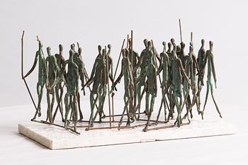John Behan, Maeve's Army at Morgan O'Driscoll Art Auctions