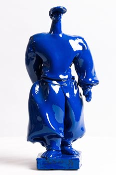 Alain Salomon, Homme Bleu at Morgan O'Driscoll Art Auctions