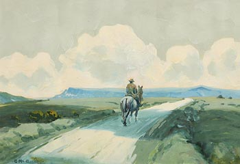 Charles J. McAuley, On the Road Home at Morgan O'Driscoll Art Auctions