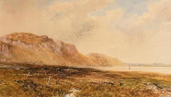 William Bingham McGuinness, In the Glen, Rostrevor (1886) at Morgan O'Driscoll Art Auctions