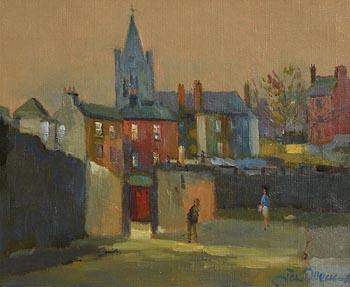 Liam Treacy, Near Christchurch, Dublin at Morgan O'Driscoll Art Auctions