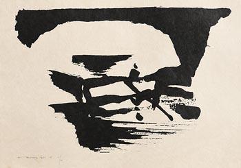 Louis Le Brocquy, Liffey, Chapelizod (1986) at Morgan O'Driscoll Art Auctions