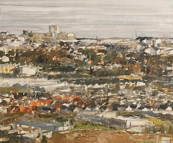 Colin Davidson, Towards Carrickfergus from Knockeigh (2006) at Morgan O'Driscoll Art Auctions