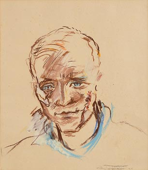 Diarmuid O'Ceallacain, Christy Ring (1955) at Morgan O'Driscoll Art Auctions