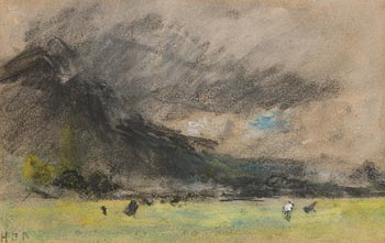Herqulas Brabrazon, Landscape at Morgan O'Driscoll Art Auctions