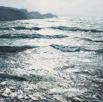 Jules Thomas, High Storm, Brow Head (2010) at Morgan O'Driscoll Art Auctions