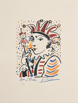 Pablo Picasso, Carnival at Morgan O'Driscoll Art Auctions