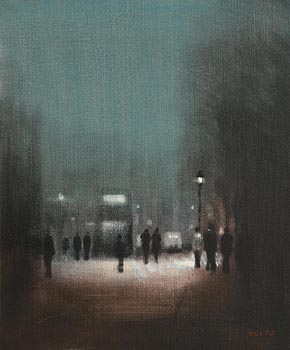 Anthony Robert Klitz, St Stephen's Green, Dublin at Morgan O'Driscoll Art Auctions