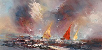 Carol Ann Waldron, The Storm is Near at Morgan O'Driscoll Art Auctions