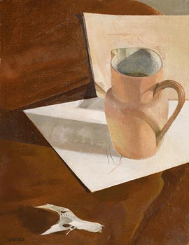 Barbara Warren, Jug and Bone Fragment (1980) at Morgan O'Driscoll Art Auctions