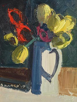Brian Ballard, Tulips in Jug (2010) at Morgan O'Driscoll Art Auctions