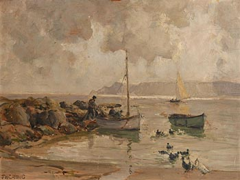 James Humbert Craig, Morning Cushendun, Co. Antrim (1937) at Morgan O'Driscoll Art Auctions