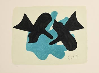 Georges Braque, Two Black Birds, Pelias and Nelee at Morgan O'Driscoll Art Auctions