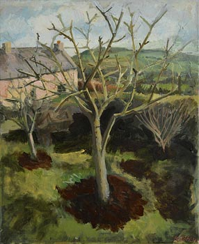 Brian Vahey, Pruned Apple Trees (2001) at Morgan O'Driscoll Art Auctions