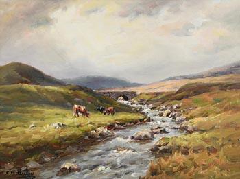 Charles J. McAuley, Orrah Bridge, Glendun at Morgan O'Driscoll Art Auctions