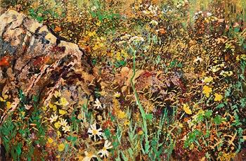 Kenneth Webb, Bog Cotton, Ballinaboy at Morgan O'Driscoll Art Auctions