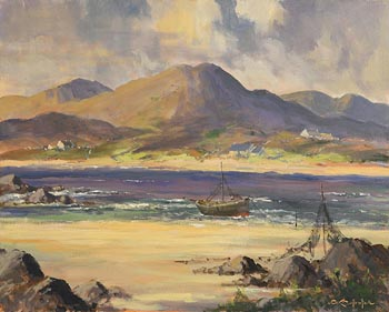 George Gillespie, May Day, Lough Swilly, Co Donegal at Morgan O'Driscoll Art Auctions