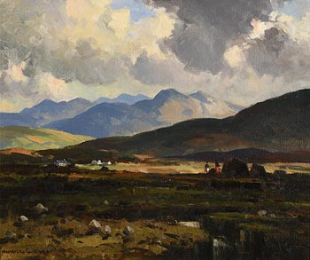 Maurice Canning Wilks, Kerry Bogland, Co Kerry at Morgan O'Driscoll Art Auctions