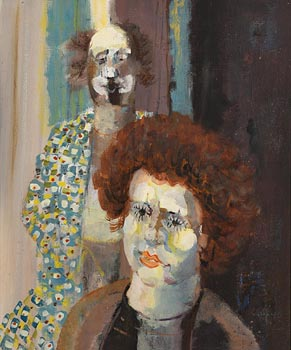George Campbell, Two Clowns at Morgan O'Driscoll Art Auctions