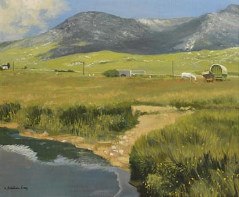 Henry Robertson Craig, The Road to Leenane at Morgan O'Driscoll Art Auctions