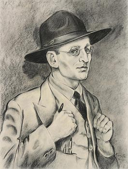 Harry Kernoff, Self Portrait (1936) at Morgan O'Driscoll Art Auctions