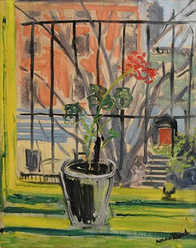 Nano Reid, Geranium on a Window Sill at Morgan O'Driscoll Art Auctions
