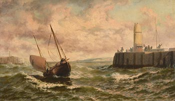 Thomas Rose Miles, Ahead of the Storm at Morgan O'Driscoll Art Auctions