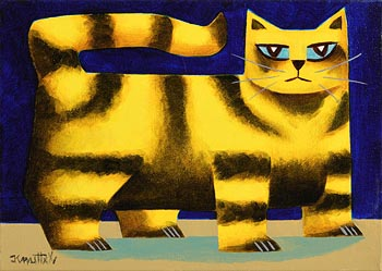 Graham Knuttel, Kilkenny Cat at Morgan O'Driscoll Art Auctions