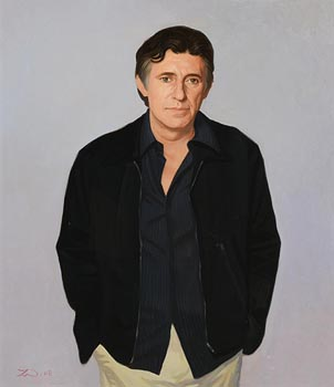 John Wilson, Portrait of Gabriel Byrne (2008) at Morgan O'Driscoll Art Auctions