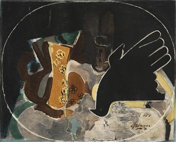 Georges Braque, Pichet et Oiseau at Morgan O'Driscoll Art Auctions