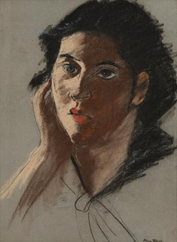 Nano Reid, Portrait of a Young Lady at Morgan O'Driscoll Art Auctions