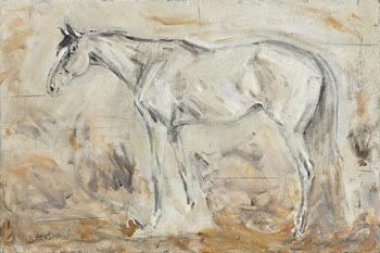 Basil Blackshaw HRHA RUA (1932-2016), Grey Chaser at Morgan O'Driscoll Art Auctions