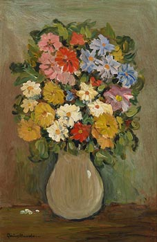 Gladys MacCabe, Mixed Flowers at Morgan O'Driscoll Art Auctions