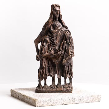 John Behan, Famine Family at Morgan O'Driscoll Art Auctions
