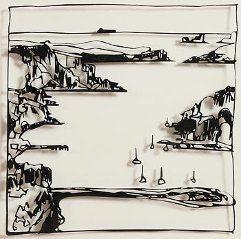 John Kelly, Harbour, Castletownsend West Cork (2014) at Morgan O'Driscoll Art Auctions