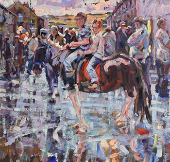 Arthur K. Maderson, Pink Cloud, Tallow Horse Fair at Morgan O'Driscoll Art Auctions