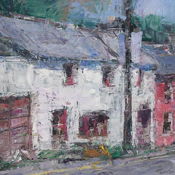 Aidan Bradley, Outhouses, Kinsale (2007) at Morgan O'Driscoll Art Auctions