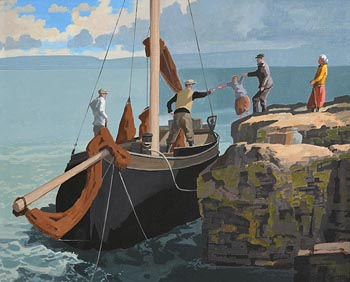 John Skelton, Emigrants at Morgan O'Driscoll Art Auctions