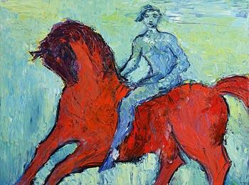 Declan O'Connor, Horse Man Passby at Morgan O'Driscoll Art Auctions