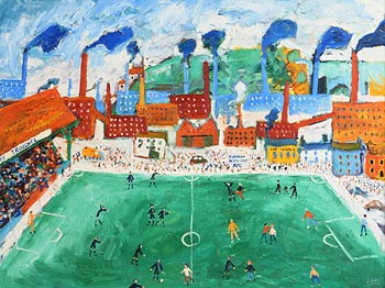 Simeon Stafford, Football at Morgan O'Driscoll Art Auctions