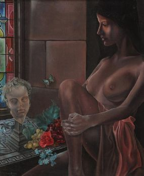 Liam Belton RHA (b.1947), Diana and Eros at Morgan O'Driscoll Art Auctions