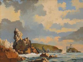 John Francis Skelton (20th/21st Century), The Edge, Howth Head, Dublin at Morgan O'Driscoll Art Auctions
