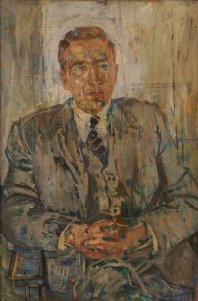 Basil Blackshaw HRHA RUA (1932-2016), Portrait of a Gentleman at Morgan O'Driscoll Art Auctions