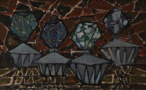 Anne Yeats (1919-2001), Diamonds at Morgan O'Driscoll Art Auctions
