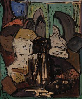 Evie Hone HRHA (1894-1955), Composition at Morgan O'Driscoll Art Auctions