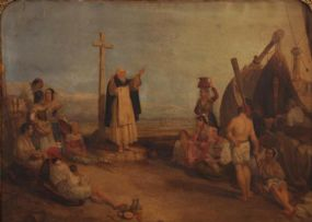 James Mahony (1810-1859), Blessing of the Fishing Fleet at Morgan O'Driscoll Art Auctions