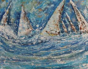 Don Meaney (20th/21st Century), Sailing off West Cork at Morgan O'Driscoll Art Auctions