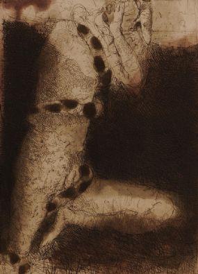 Hughie O'Donoghue (b.1953), Descent I at Morgan O'Driscoll Art Auctions