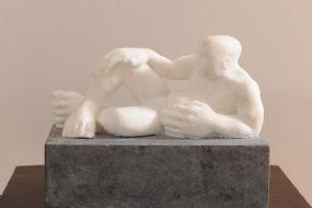 James Moran (20th/21st Century), Reclining Male Study at Morgan O'Driscoll Art Auctions